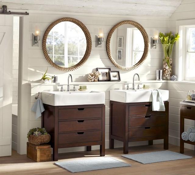 Seville Single Sink Console Contemporary Bathroom