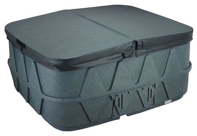 AquaRest Spas Hot Tubs & Accessories AR-400 Replacement Spa Cover - Charcoal - Contemporary ...