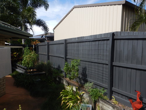 Need Advice To Hide The Neighbours Shed