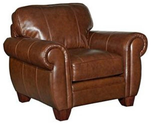 broyhill leather chair 3