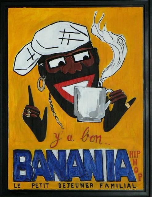 banania hip hop contemporain tableau d 39 art other metro par richard boigeol. Black Bedroom Furniture Sets. Home Design Ideas
