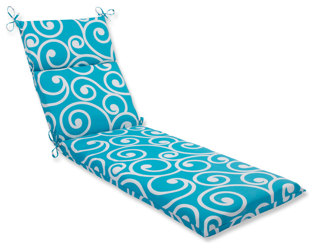 Best turquoise chaise lounge cushion contemporary for Best chaise lounge cushions