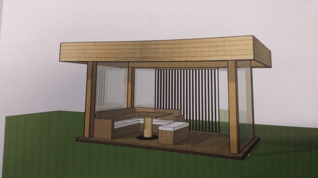 outdoor gartenpavillon holz. Black Bedroom Furniture Sets. Home Design Ideas