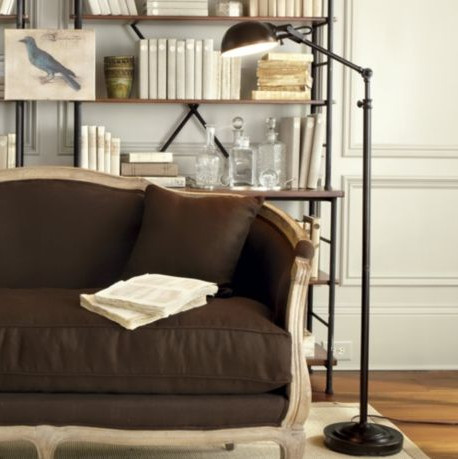 julian apothecary floor lamp traditional floor lamps. Black Bedroom Furniture Sets. Home Design Ideas