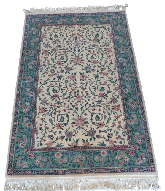 4x6 kerman rug traditional area rugs by oriental rug galaxy