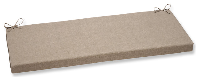 Monti Taupe Bench Cushion - Scandinavian - Outdoor Cushions And Pillows - by Pillow Perfect Inc