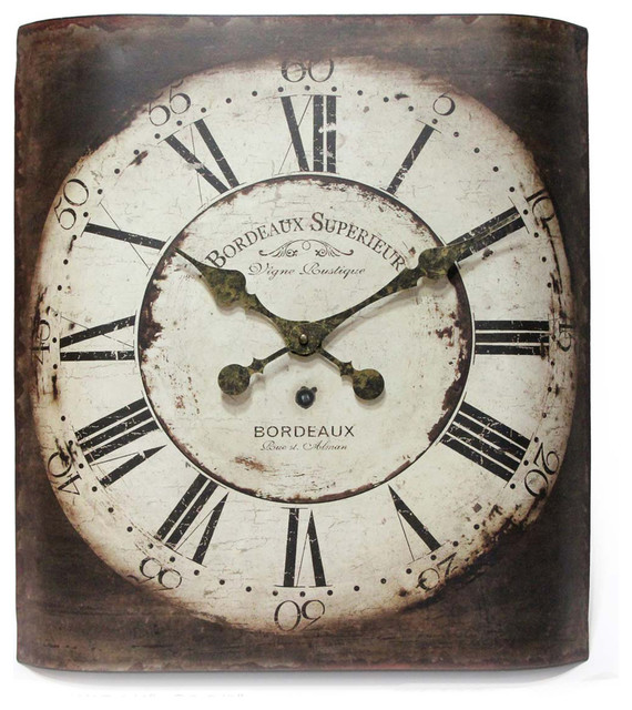 "Elk Lighting Bordeaux: Infinity Instruments Bordeaux 19"" Wall Clock"