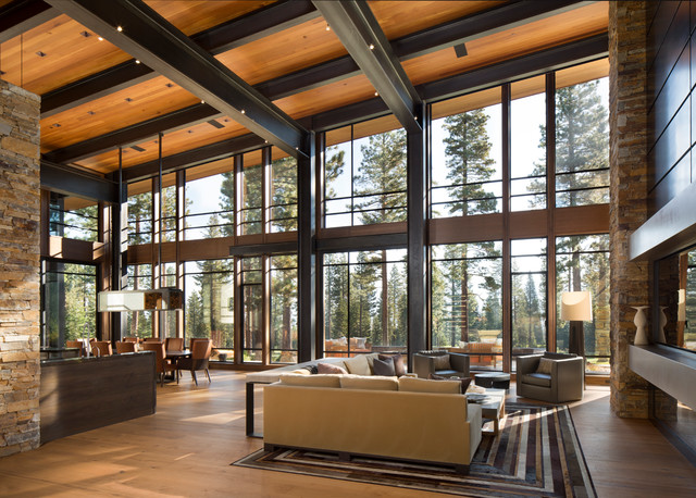 Lake tahoe home automation in martis camp for Tahoe architects