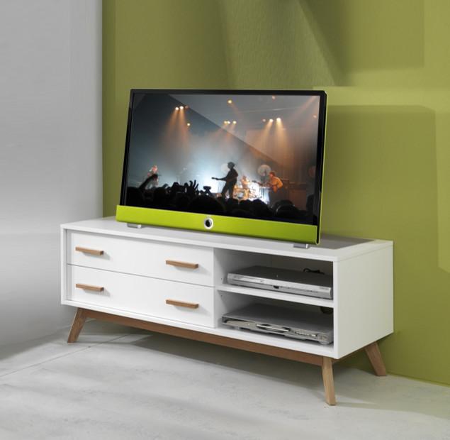 Contemporary Design Italian TV Stand Kyra By Tomasucci
