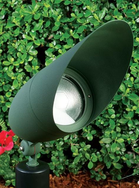 Dpr41 hood line voltage par38 landscape directional spot for Line voltage outdoor lighting