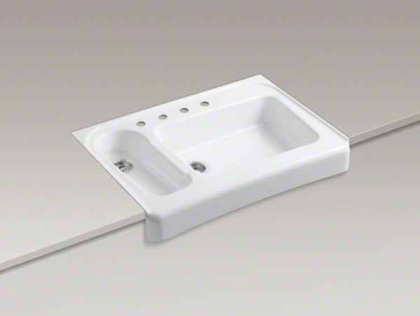 Kohler Ada Sinks : ... tile-in/under-mount double - Contemporary - Kitchen Sinks - by Kohler