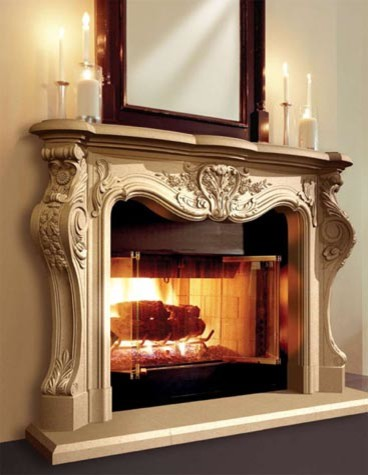 Cast Stone Fireplaces Traditional Indoor Fireplaces Kansas City By Continental Cast