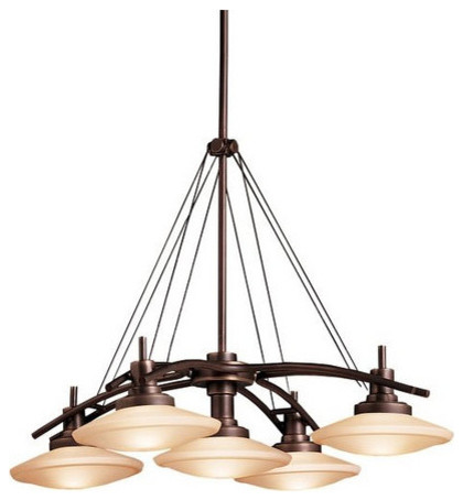 Kichler 2055oz Structures Single Tier Oval Chandelier 5