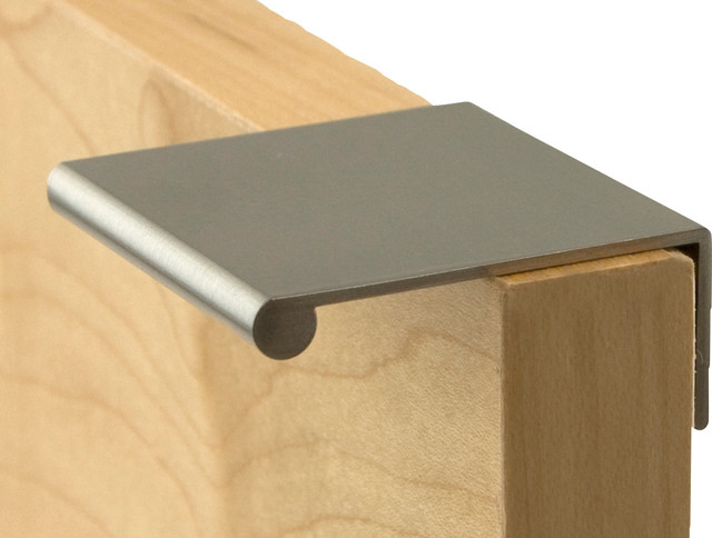 Berenson BER-1052-4 Finger Pulls, Brushed Nickel - Modern - Cabinet And Drawer Handle Pulls - by ...