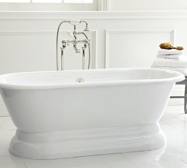 Cast iron porcelain bathtub 28 images barclay tkctsh60 for Porcelain clawfoot bathtub