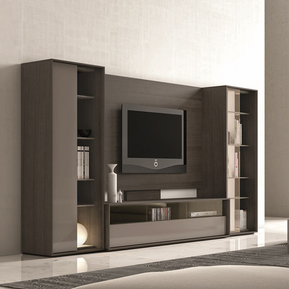 Composition 220 Modern Wall Unit - $6352.95 - Modern - Entertainment Centers And Tv Stands - New ...