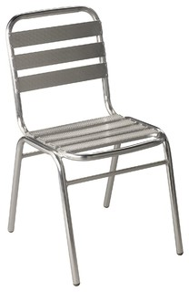 Chaise en tissu anthracite - Tribute - Chaises-Tables. - Alina
