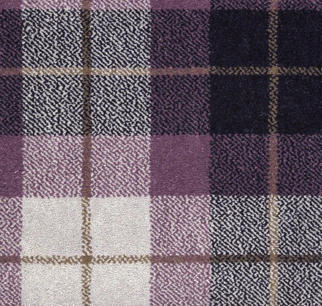 Purple Tartan Carpet Vidalondon