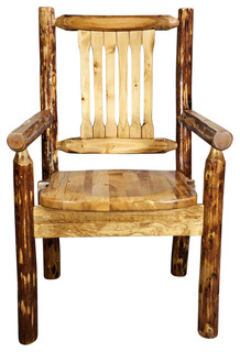 Glacier Country Collection Captain 39 S Chair With Ergonomic