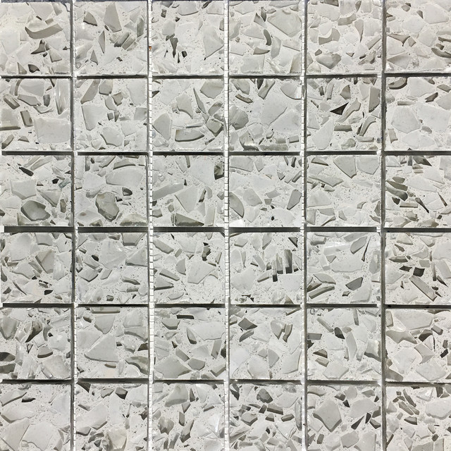 vetrazzo recycled glass mosaic tiles for backsplash