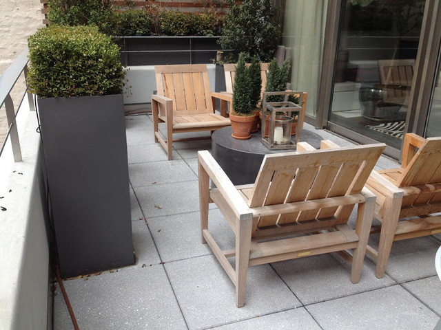 Rooftop Garden Designers Ny Modern Furniture New