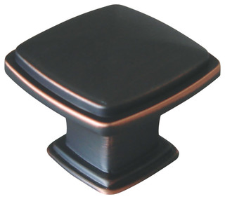 Park Avenue Knob Oil Rubbed Bronze - Transitional - Cabinet And Drawer Knobs - by Design House