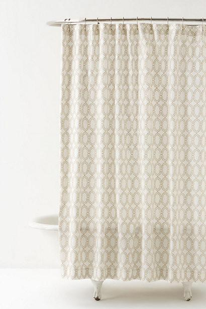 Anthropologie shower curtain atavi shower curtain contemporary