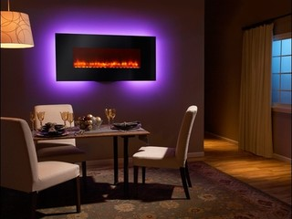 Heat & Glo Wall-Mount Electric Fireplace Series