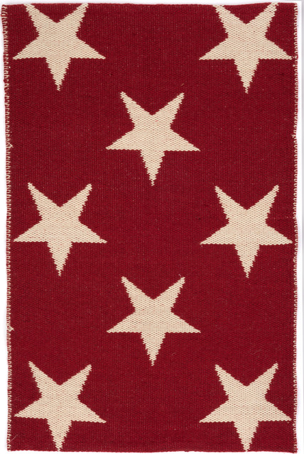 Outdoor Teppich Star Red  Rugs  other metro  by Greenbop