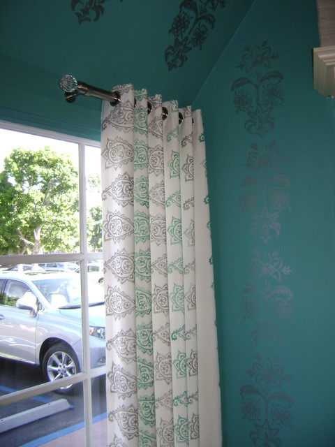 Small spaces traditional curtains orange county by - Curtains for small spaces ...