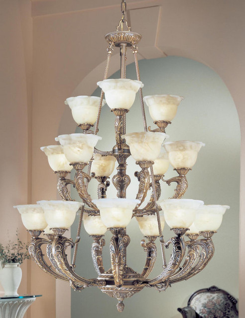 Victorian II Collection Extra Large Transitional Chandelier Chandeliers B