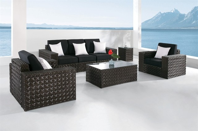 Nari Modern Patio Sofa Set S8002 Modern Outdoor Lounge