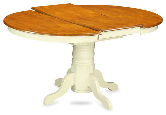 Avon Oval Table With 18quot Butterfly Leaf Buttermilk  : beach style dining tables from www.houzz.com size 640 x 442 jpeg 37kB