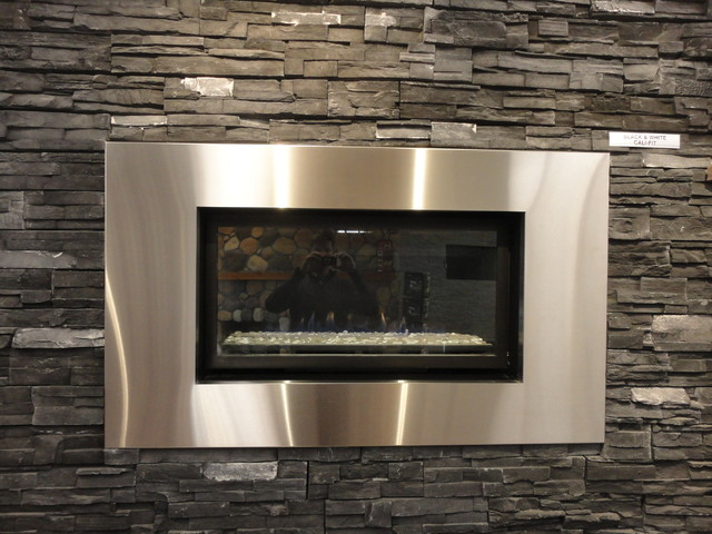 Fireplaces modern indoor fireplaces other metro by for Building an indoor fireplace