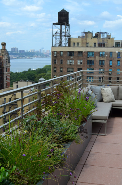 Upper west side terrace garden eclectic new york by for 100 park terrace west
