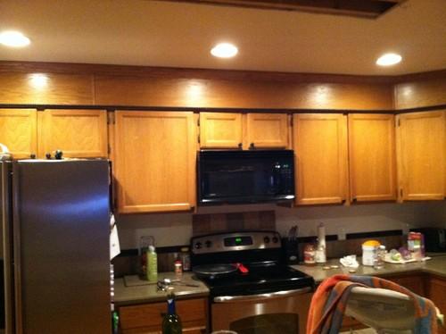 Kitchen Soffit Help