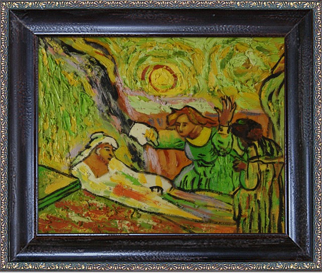 Van Gogh - The Raising Of Lazarus Oil Painting - Modern - Prints And Posters - by overstockArt