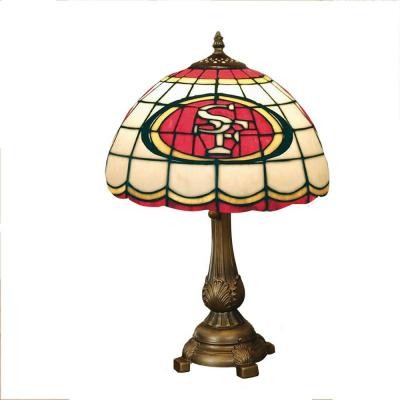 Novelty Lamps NFL San Francisco 49ers Stained Glass