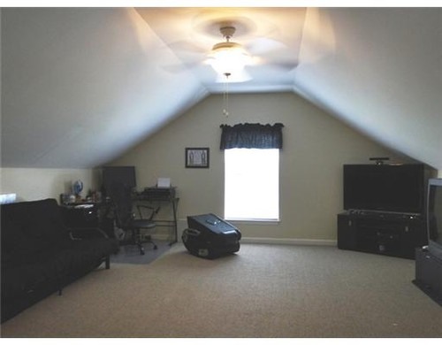 Bonus Room With Sloped Ceiling
