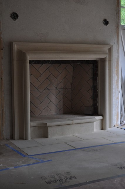 CAST STONE FIREPLACE MANTELS Traditional other metro