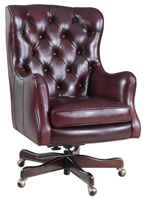 Hooker Furniture Catwalk Claudia Executive Chair Traditional Office Chairs