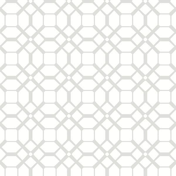 gray amp white geometric wallpaper modern wallpaper by