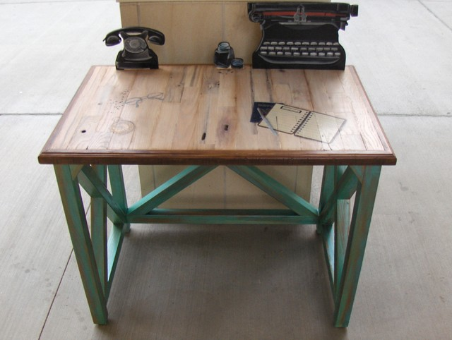 Old School Computer Desk Eclectic Furniture Miami By Sonrooms Inc