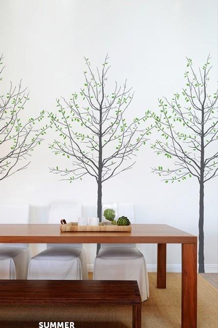 Seasons decal by mina javid contemporary kids wall decor by blik - Blik wall stickers ...