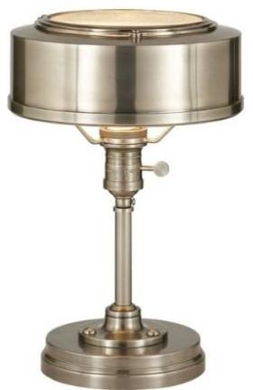 Visual Comfort TOB3197AN Thomas O Brien Henley 1 Light Table Lamp in Antique Nic - Modern ...