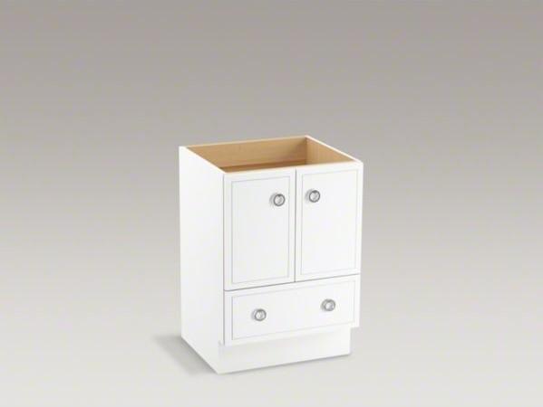 Kohler Jacquard Tm 24 Vanity With Toe Kick 2 Doors And 1 Drawer Contemporary Bathroom