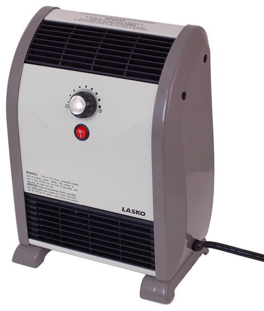 Lasko Fan Forced Electric Space Heater - Transitional - Space Heaters - by Air & Water, Inc.