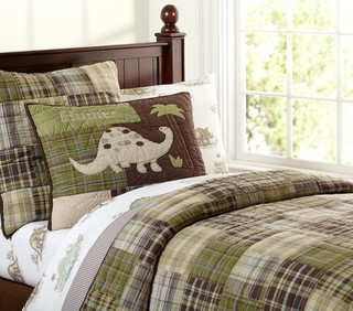 Madras Quilt Traditional Kids Bedding By Pottery Barn Kids