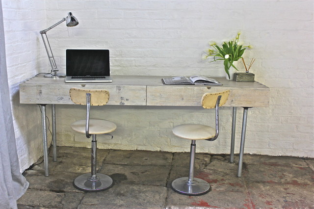 Desks : industrial desks and writing bureaus from www.houzz.co.uk size 640 x 426 jpeg 75kB