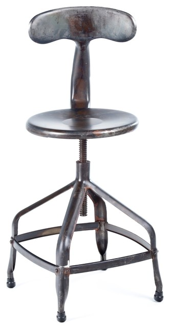 Delilah Bar Stool Industrial Bar Stools And Counter